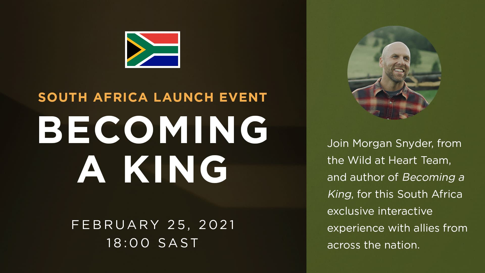 South Africa Becoming a King Launch Event